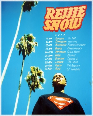 Rejjie Snow's headline tour